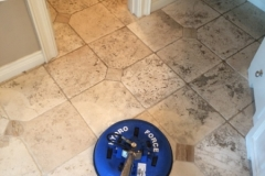 Travertine deep cleaning